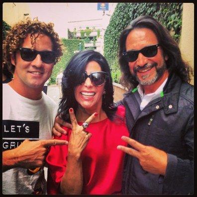 Con mis compañeros del @lavozmexico @Al3jamdraGuzman y @MarcoAsolis