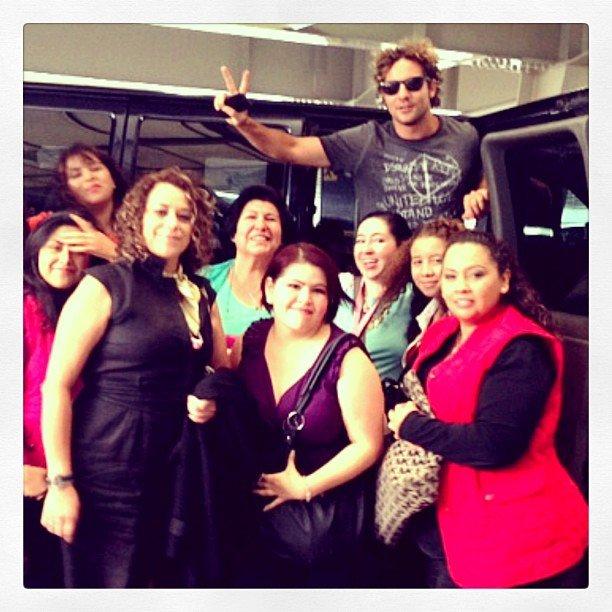 con un grupo de amigas que me he encontrado a mi llegada a México!!!