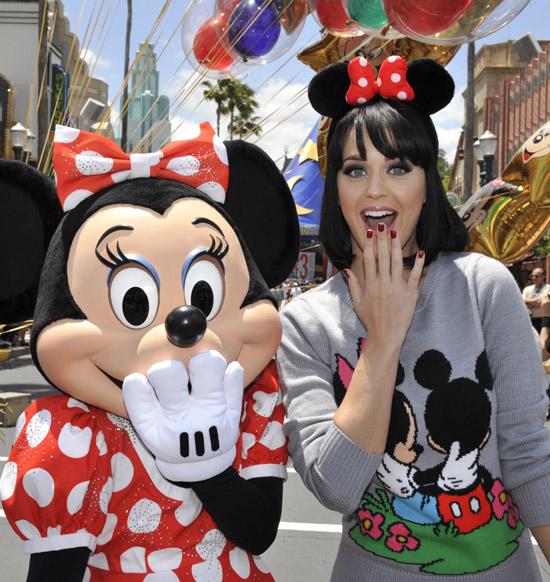 Katty Perry en Disney 2