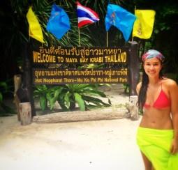 """Bienvenidos a Maya Bay... Aquí se filmó la película """"La playa"""" de Leo Di Caprio"""