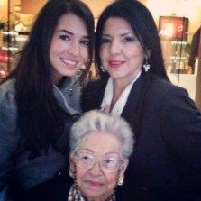 Tres generaciones... ¡ Lo máximo!