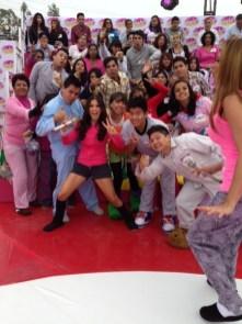 Con el público de Ecatepec