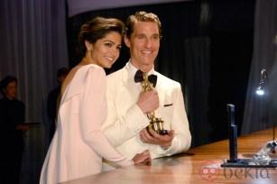 Matthew McConaughey y Camila Alves en la fiesta Governors Ball tras los Oscar 2014