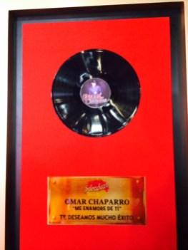 El regalo de la producción para Omar!!!!