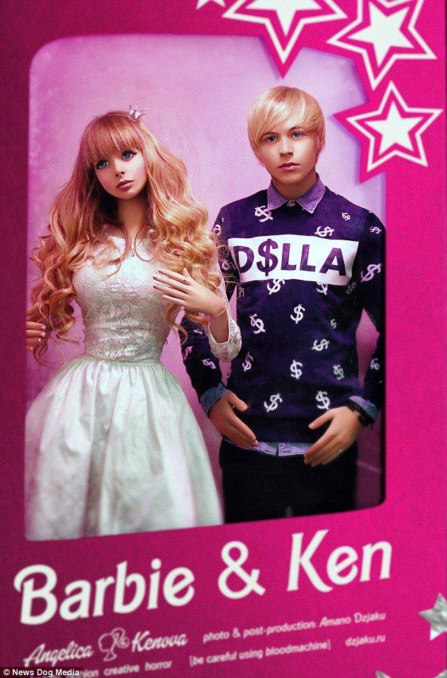 Conoce la triste historia de la nueva Barbie humana