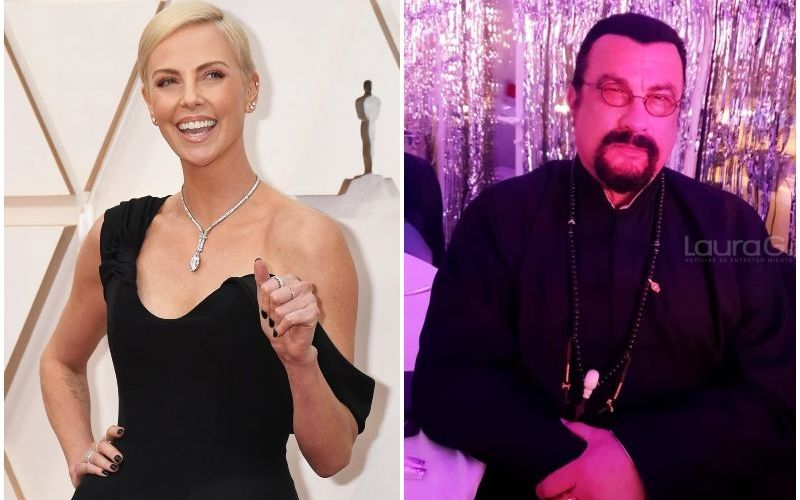 charlize theron steven seagal