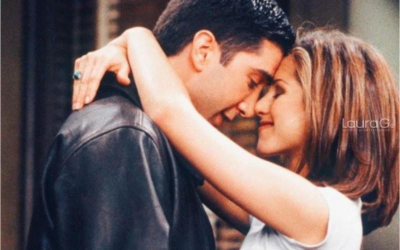 Jennifer Aniston y David Schwimmer