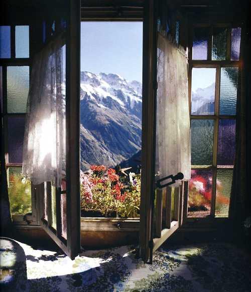 Mountain View, The Alps, Switzerland