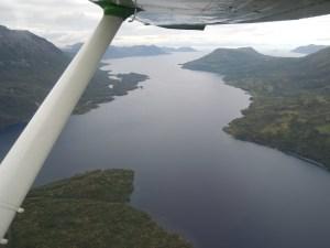 flight to Harvester