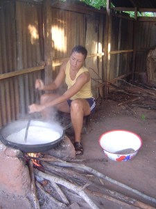 laura roasting gari