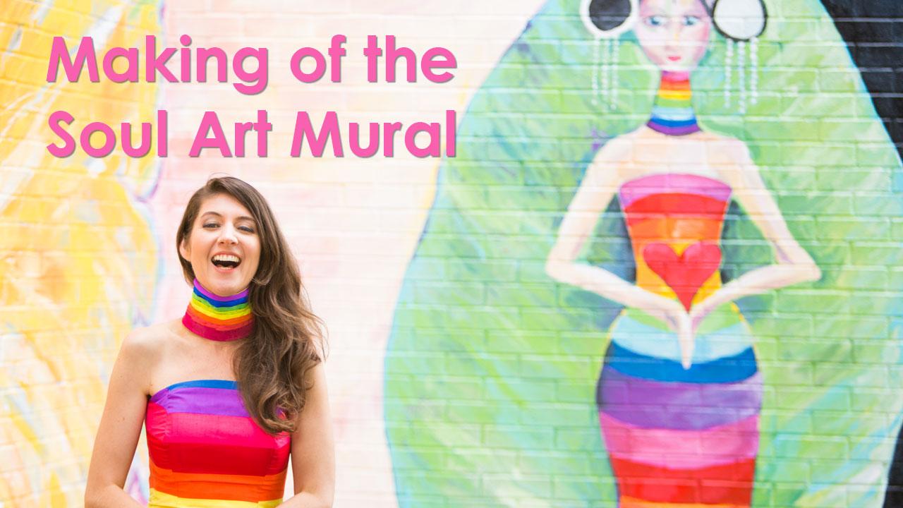 Making of the Soul Art Mural
