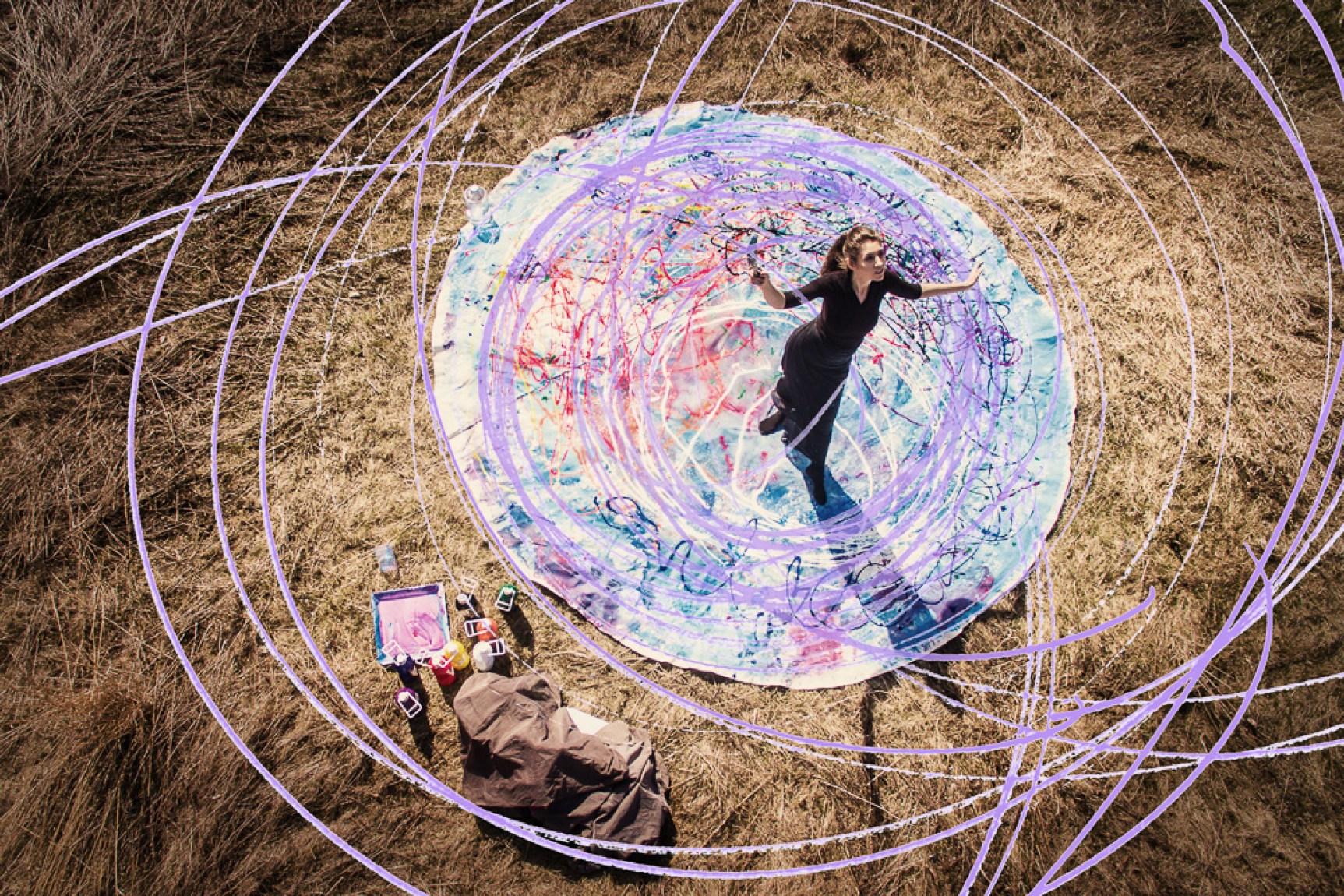 Cosmic Earth Footprint