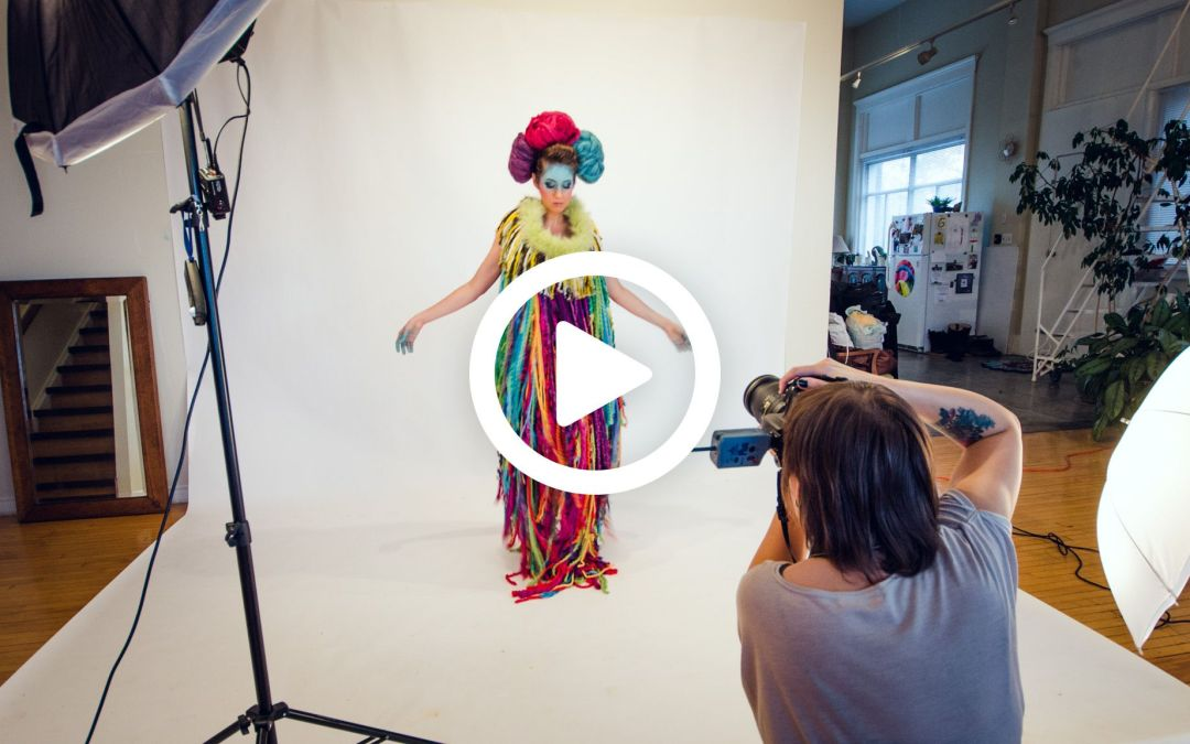 Behind the scenes Soul Art Shaman photoshoot