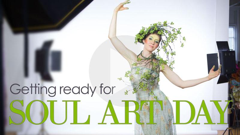 Getting ready for International Soul Art Day 2017