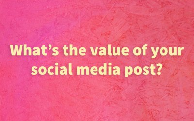 What's the value of your social media post?