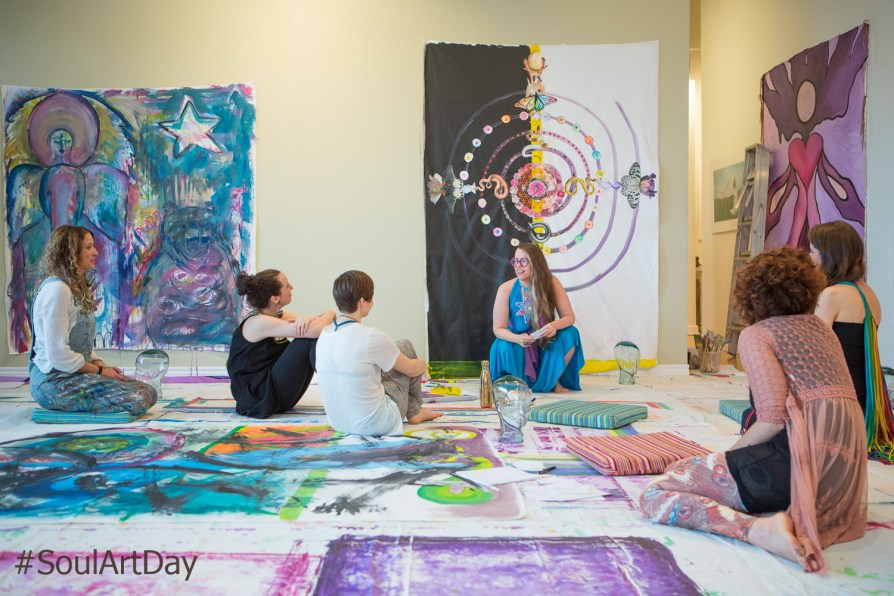 Sharing insights on Soul Art Day