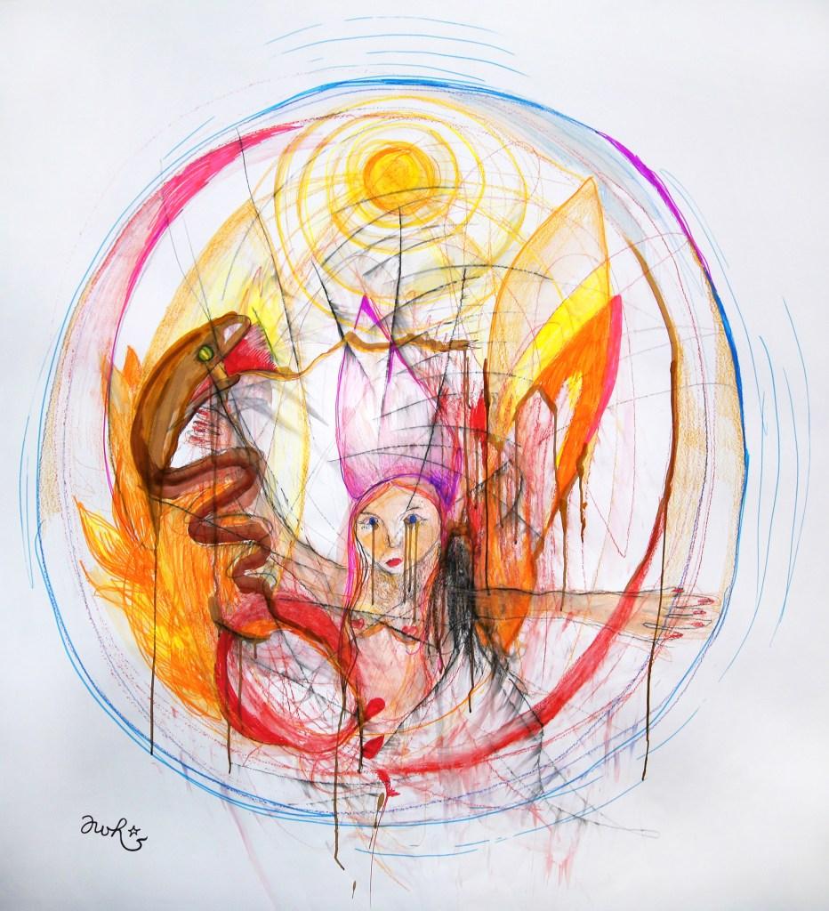 Yoni Art by Antonia Wibke (Awi) Heidelmann