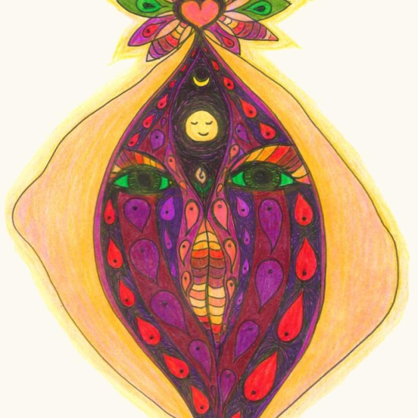 Yoni Art by Cora Flora
