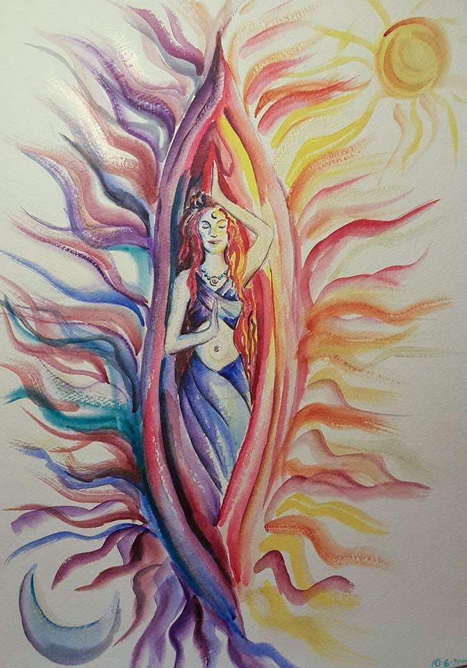Yoni Art by Emily Moody