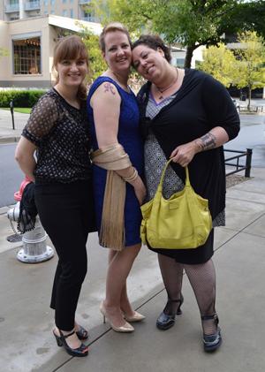Kris, Sarah, and Isobel