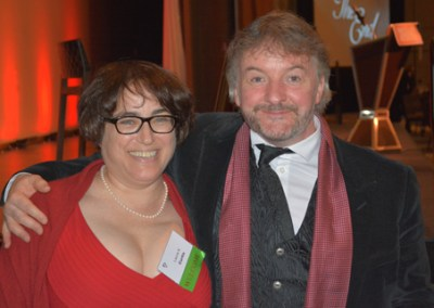Laura K Curtis and John Connolly