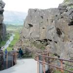 walking in cliffs