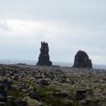 Strange stone outcroppings