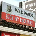 Bar sign: Suck My Cocktails