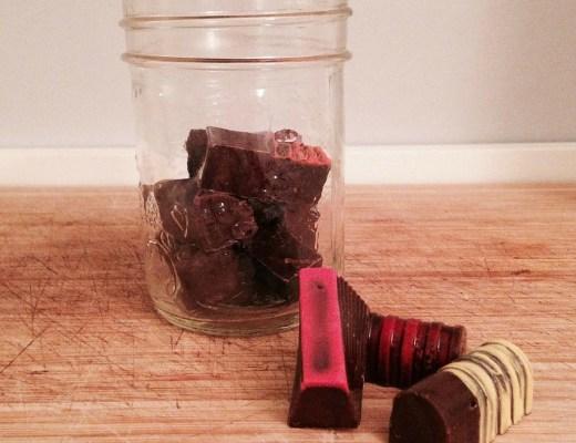 chocolats zéro déchet