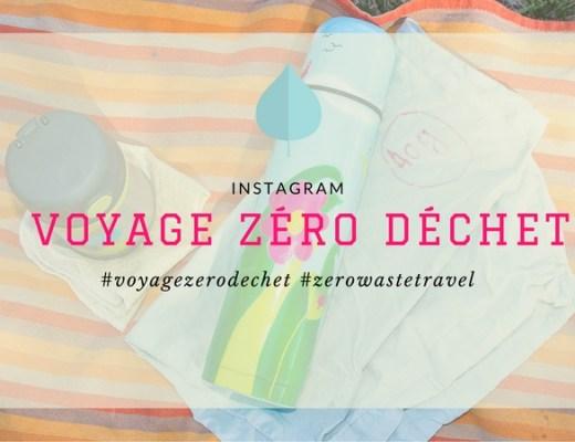 voyage zéro déchet