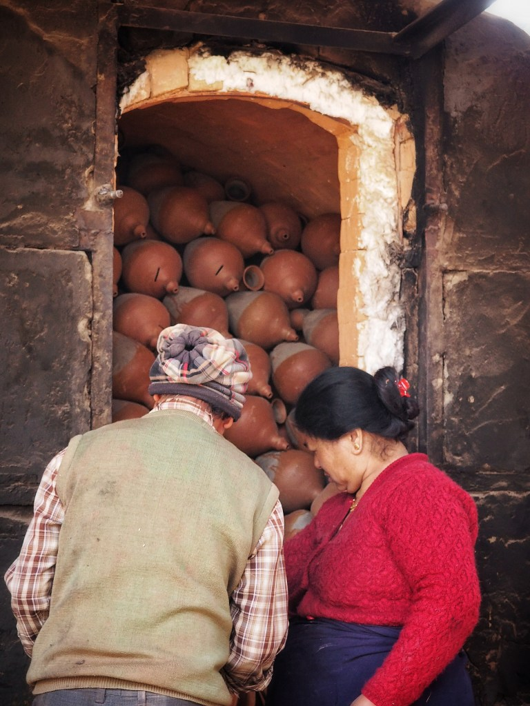 Pottery, Bhaktapur, Firing, Craftsmanship