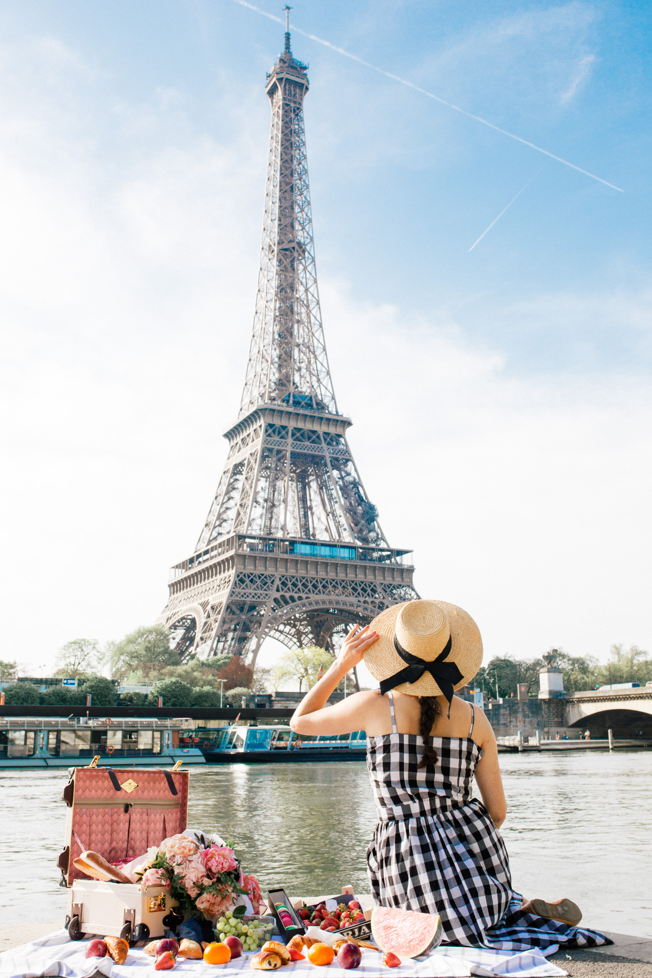Looking to see some incredible sights from the comfort of a train? Paris Travel Guide by Travel Blogger Laura Lily, Eiffel ...