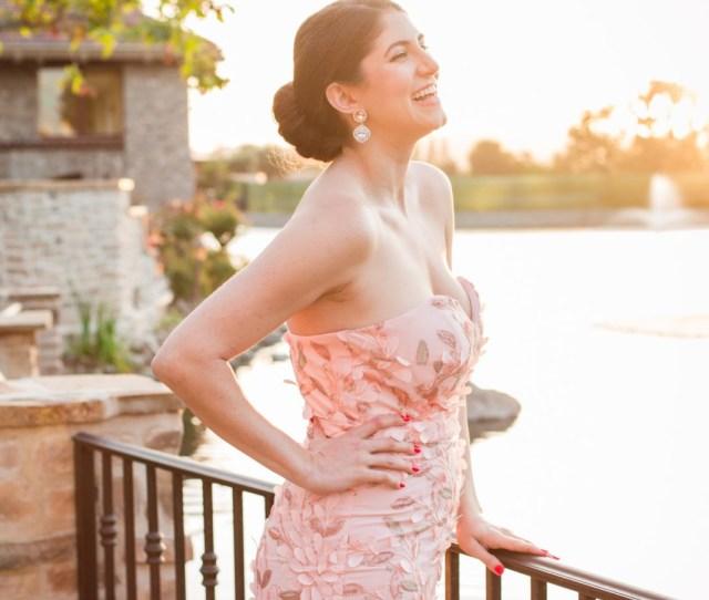 Black Tie Wedding Attire Jadore Australia Blush Pink Gown Featured By Popular Los Angeles Fashion