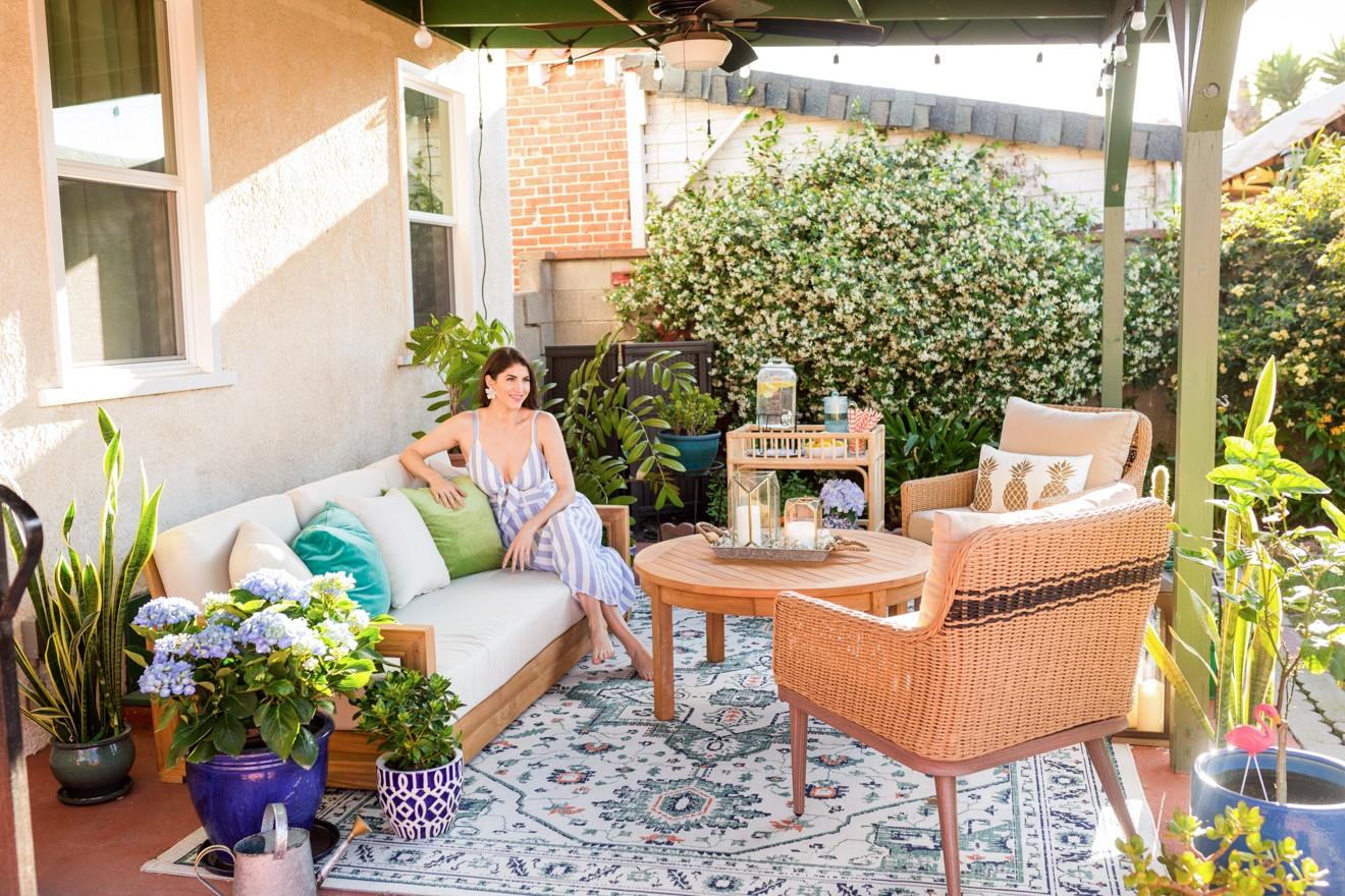 patio decor ideas with bed bath