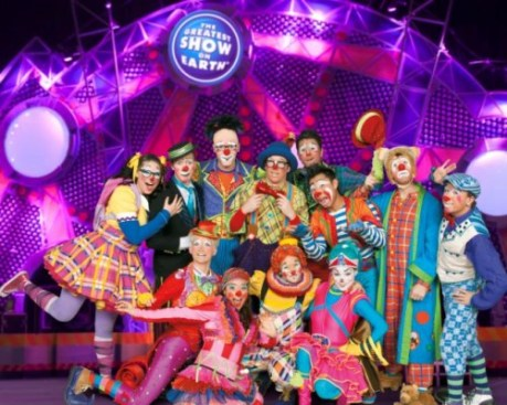 Ringling Bros Clowns