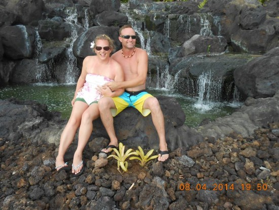 Honeymoon in Hawaii, August 2014.
