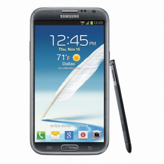 Samsung Galaxy Note and S Pen stylus