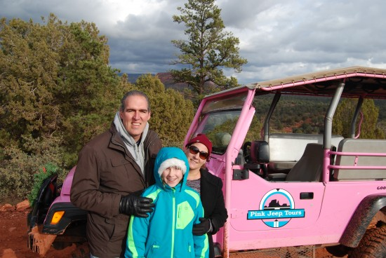 Sedona Diamondback Gulch Pink Jeep Tour