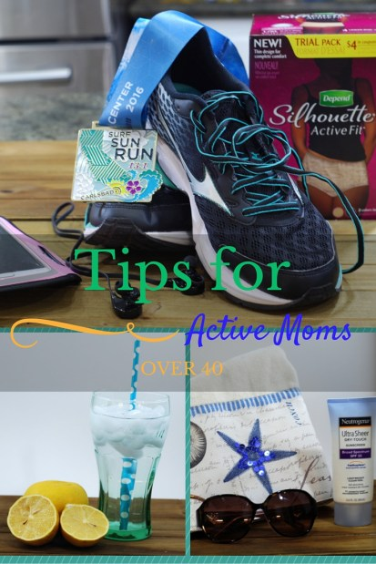 Tips for Active Moms Over 40