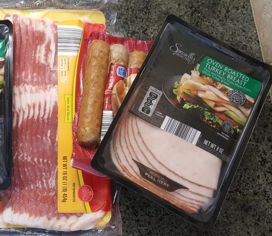 We got brats, bacon, lunch meat, and all sorts of goodness for a fraction of what we usually pay at the larger supermarkets!