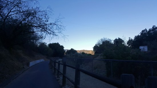 The sun was still coming up when I left for my run. It was beautiful, watching the sun rise.