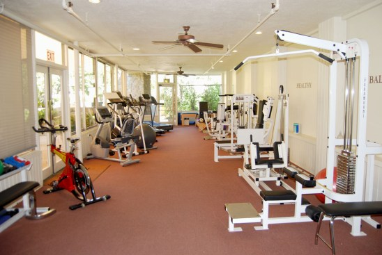 The gym had a little of everything. Right next door was the yoga/dance studio.