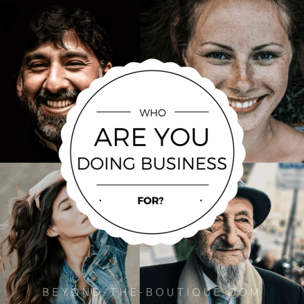 who are you doing business for