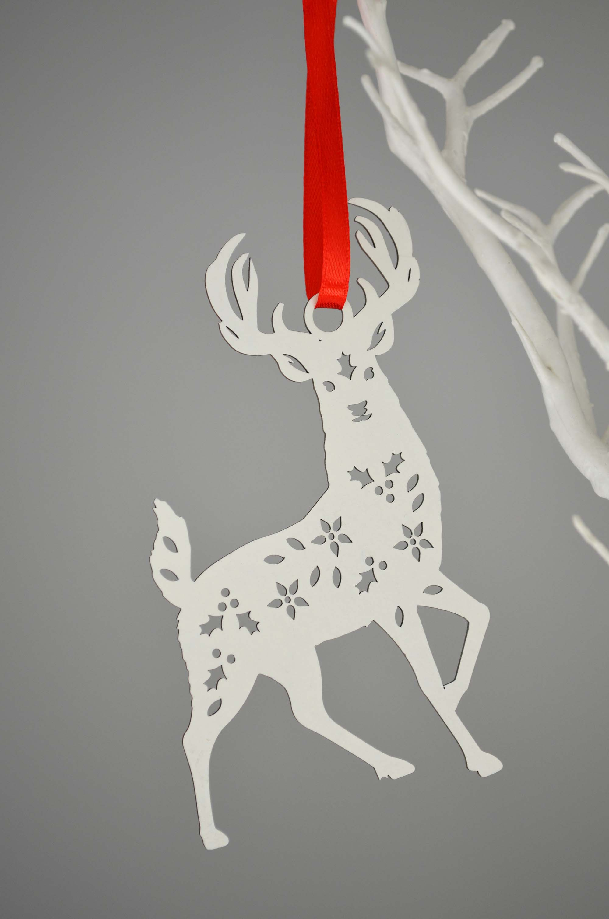 Paper Cut Laser Winter Woodland Creatures Christmas