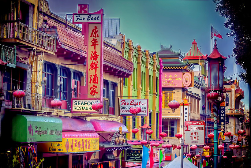 SF Chinatown (Reprocessed)