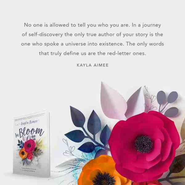 in bloom quote