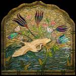 Crane Altar.  4′ x 4′