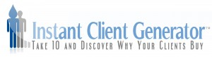 Instant Client Generator for marketing research