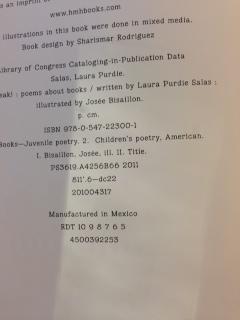 BookSpeak's CIP page