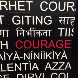 Courage [15 words or less]